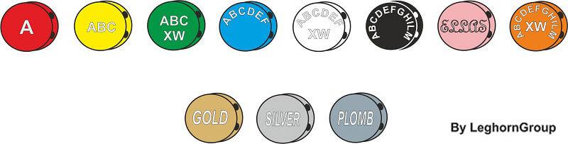 piombini in colorata plombex colori personalizzazioni